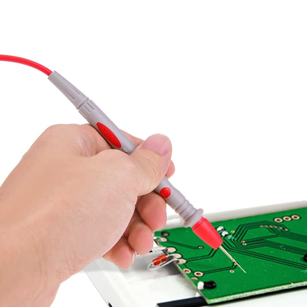 O teste universal da ponta da pena do cabo do fio do multímetro de vastar 110cm leva para o multímetro digital