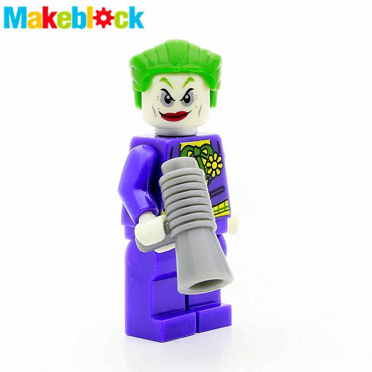 Única venda joker jack napier batman robin marvel super heróis os vingadores minifig montar blocos de construção crianças brinquedos presente