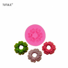 Gadgets-Large Chrysanthemum Mum Flower Silicone Rubber Flexible Food Safe Mould-soap,clay,chocolate,butter pat,wax,fondant Mold недорого