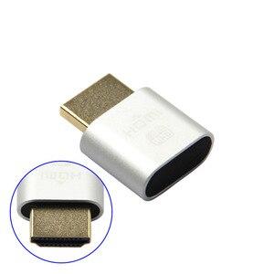 1Pc VGA Virtual Display Adapter HDMI 1.4 DDC EDID Dummy Plug Headless Ghost Display Emulator New EM88