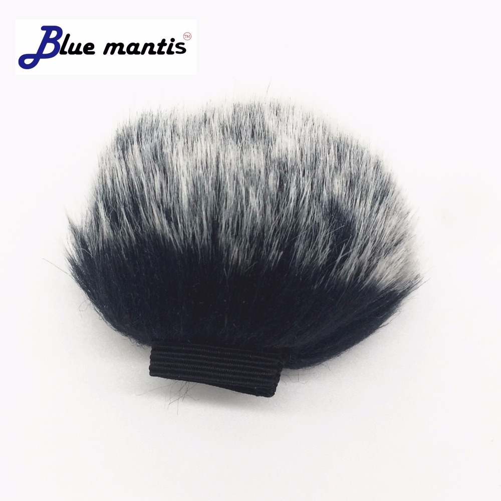 Deat Cat Outdoor Artifical Fur Wind Muff Windscreen Shield For Shure MV88 Wind Muffler Windscreen For SHURE MV88