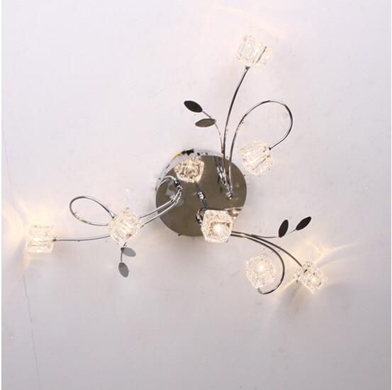 Online Kaufen Großhandel Kristallwürfel Lampe Aus China ... Schlafzimmer Lampe Modern