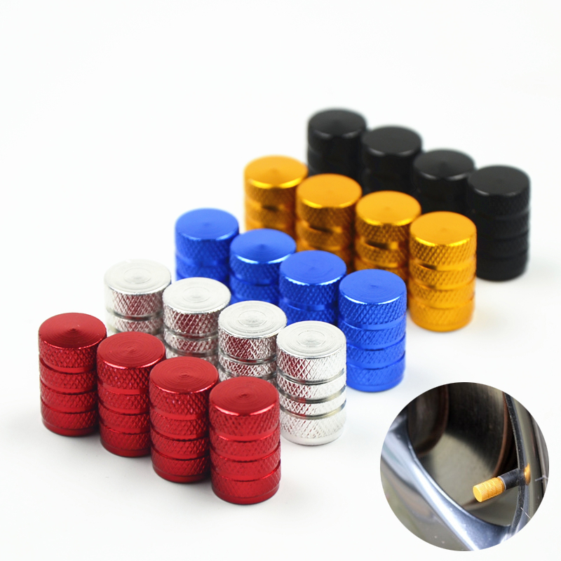 Aluminum Bullet Car Truck Air Port Cover Tire Rim Valve Wheel Stem Caps For Kia Vw Ford Audi Bmw Benz Toyota Honda Land Rover