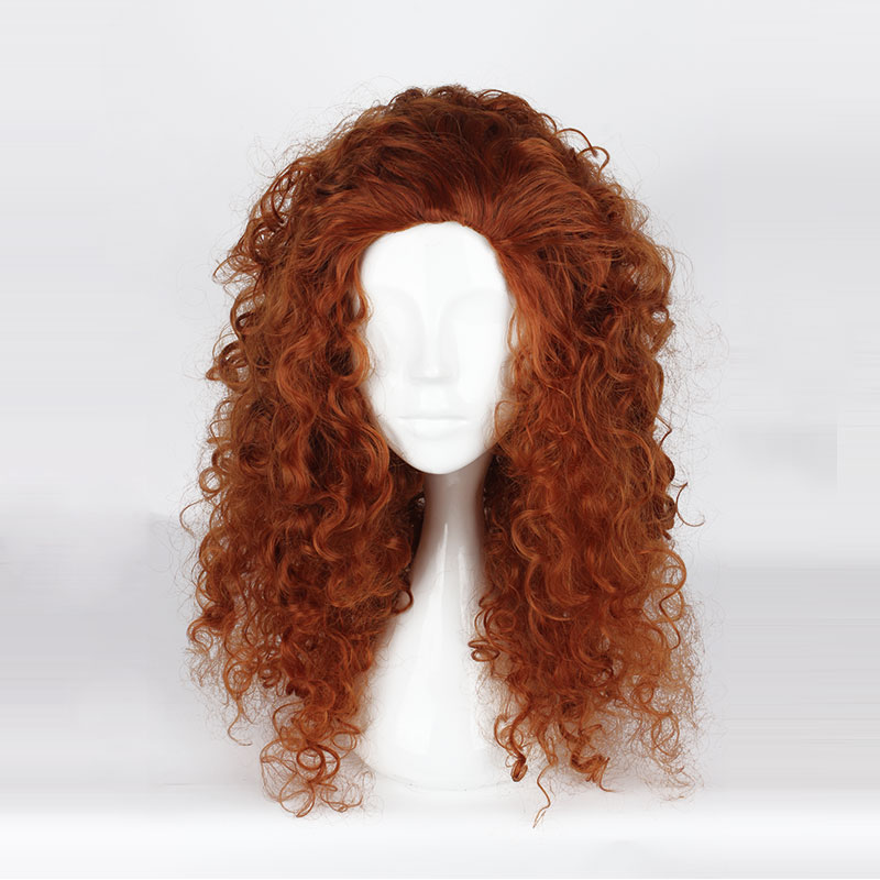 Brave Cosplay Wigs Princess Merida Cosplay Wigs Heat Resistant Synthetic Cosplay Wig Halloween Carnival Party Cosplay Women Wigs