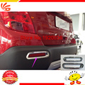 Car styling ABS Chrome Rear Fog Light Lamp Cover Trims for TRAX 2014 tail fog light cover trim Rear fog lamp cover