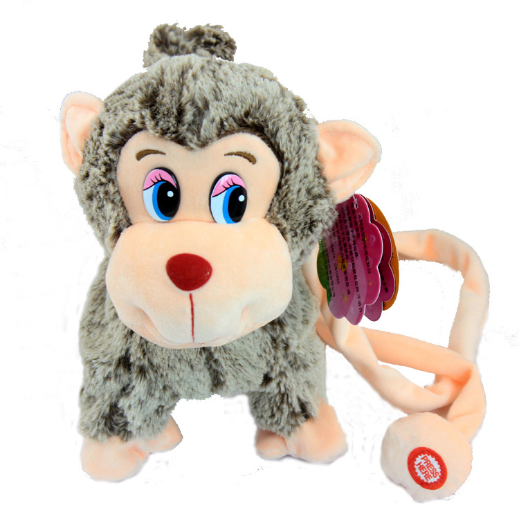 Virtual Pet Toy Walking Singing Monkey Interactive Toys Electronic Pets Kids Happy Monkey Robot Rc Animal Science Musical robo in Electronic Pets from Toys Hobbies