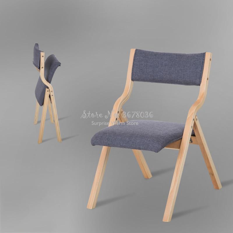 chaise de salle a manger moderne chaise de salle a manger en bois pliable avec couvercle amovible chaise de cafe portable chaise de cafe meubles de