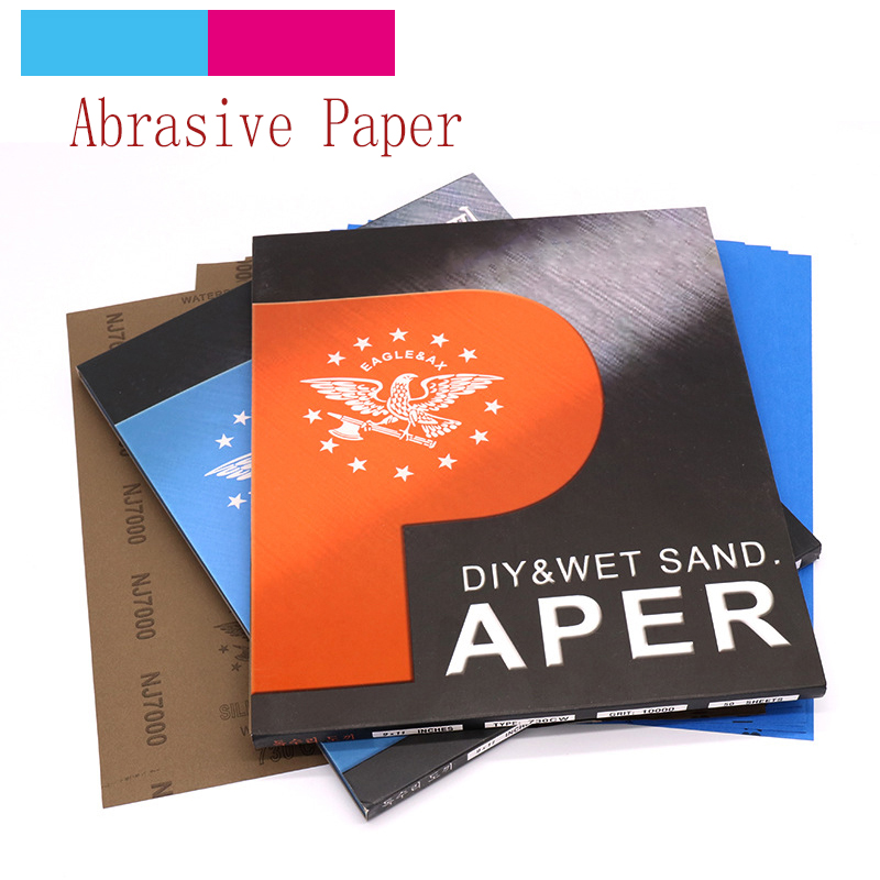 1pcs Polishing Sanding Wet/dry Abrasive Sandpaper Paper Sheets Surface Finishing Made Grit 80-10000 Abrasive T