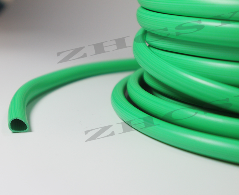 Free shipping green color PVC tube PVC sleeve for tube printer wire marking machine cable ID printer electronic lettering in Cable Sleeves from Home Improvement