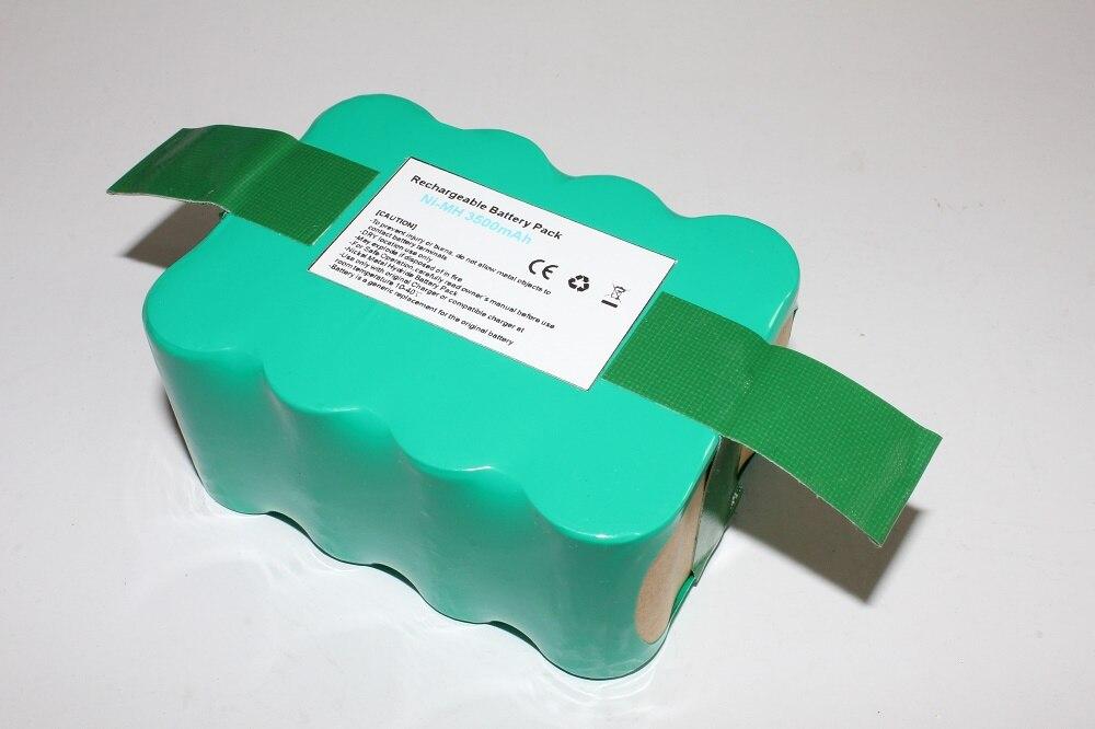 Batterie de remplacement pour KV8 Samba XR210c Robots Hoover RBC003 batterie de nettoyage de balayage 3500 mah batterie