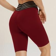 Women Yoga Shorts High Waist Sports Gym Leggings Workout Hip Push Up Leggings Fitness Sports Running Yoga Athletic Shorts цена 2017