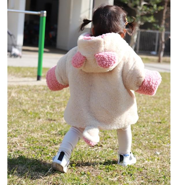 Baby jas Winter Baby Meisjes Kleding pasgeboren warm snowsuit bovenkleding bebe hoodie bont dikke peuter kinderen jongens Sneeuw Jas 1