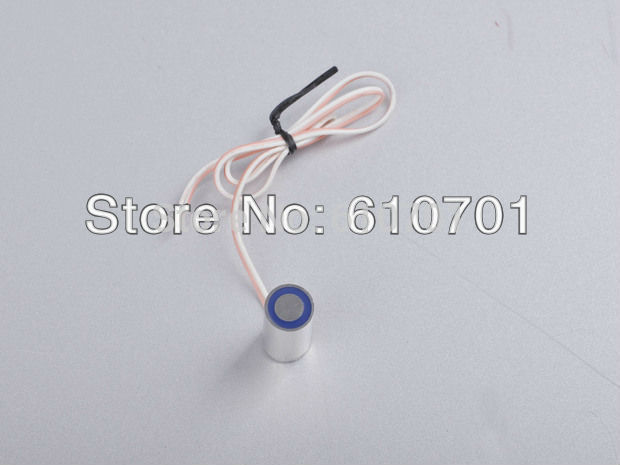 Electric Lifting Magnet 13mm OD 12VDC 24VDC Miniature Holding Electromagnet Lift 1kg Solenoid P13/27 electric lifting magnet holding electromagnet lift 5kg solenoid 25mm od 24v