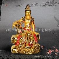 Fabbrica diretta resina mestieri ornamenti Guanyin Bodhisattva Guanyin Buddha 66 cm alto trasporto immagine