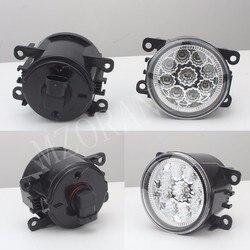 مصابيح الضباب الخفيف 2 قطعة مصابيح ضباب LED فوجلايتس لفورد فوكس 2 فوكس 3 ترانزيت تورنيو ترانزيت مخصص التركيز MK2/3 2004-2015