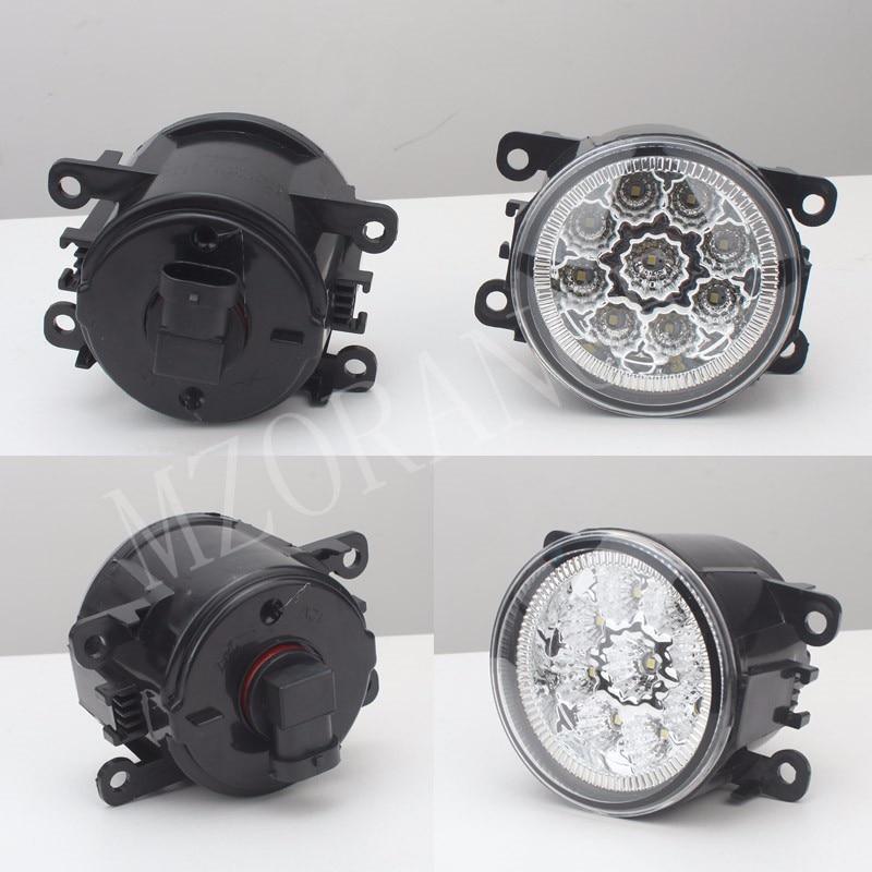 2 PCS-car styling DRL Fog Lâmpadas iluminação Luzes LED Para O TRÂNSITO FORD FOCUS MK2 TRANSIT TOURNEO CUSTOM/3 Plataforma Chassis FUSÃO