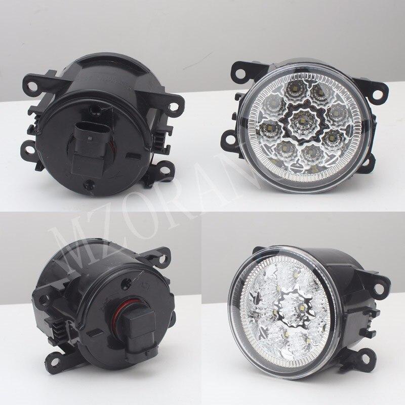 2 PCS de voiture-styling DRL Brouillard Lampes éclairage LED Lumières Pour FORD TRANSIT TOURNEO TRANSIT COUTUME FOCUS MK2/3 Plate-Forme Châssis FUSION