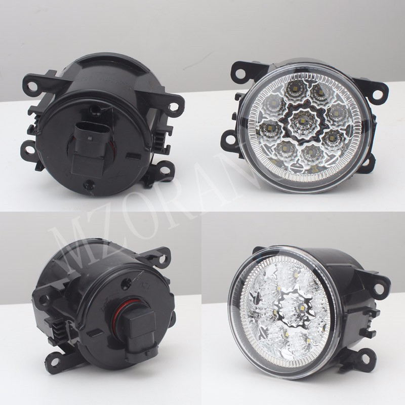 2PCS car-styling DRL Fog Lamps lighting LED Lights For FORD TRANSIT TOURNEO TRANSIT CUSTOM FOCUS MK2/3 Platform Chassis FUSION
