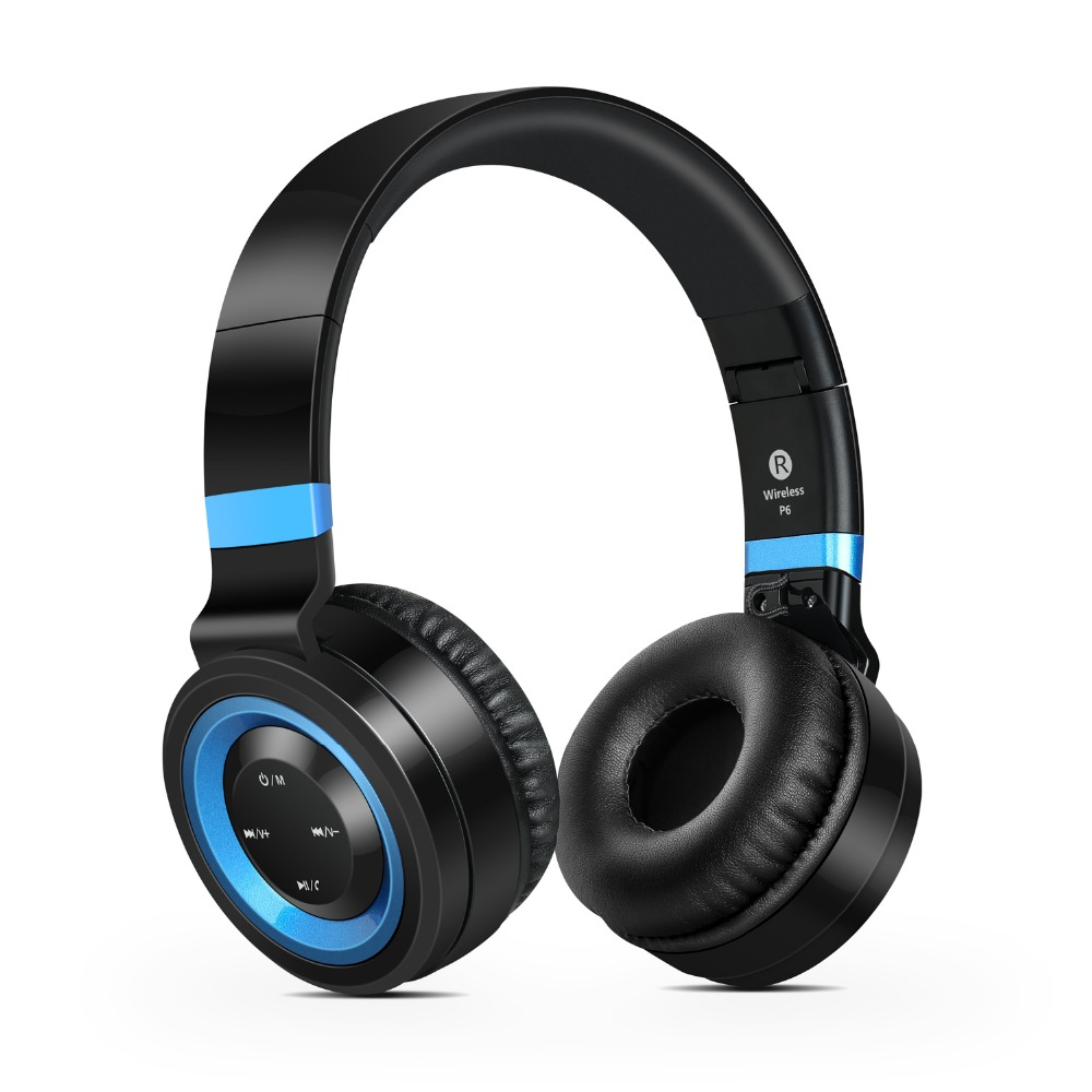ФОТО Sound Intone P6 Over-ear Wireless Bluetooth 4.0 Headphones Auriculares Foldable Stereo with Mic Support MP3 TF Card FM Radio New