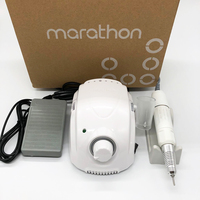 STRONG 210 65W MARATHON Champion 3 Micromotor SDE H20N Handpiece Electric Manicure Drill Set for manicure Nail Drill equipment