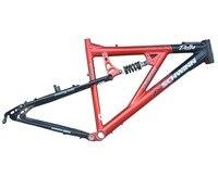 Hi performance Канада Дизайн 26 дюймов алюминий сталь Задняя подвеска вниз холм велосипедные рамы