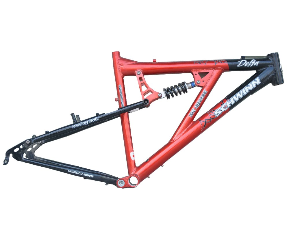 Hi Performance Canada Design 26 Inch Aluminum Steel Rear Suspension Down Hill Bicycle Frame