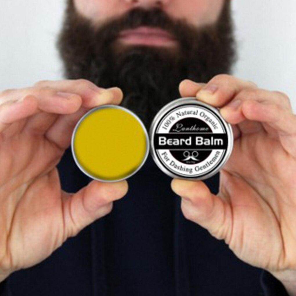 2019 Natural Organic Men Beard Paste Cream Maintaince Balm Wax Oil Moisturing Replenishment Softener Butter Lotion