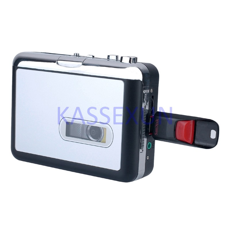 2017 KASSEXUN Cassette To Mp3 Convert Old Tapes Into SD Card Directly No Pc Required Free Shipping In Recorder Player From
