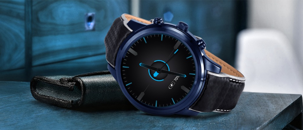LEMFO LEM5 Pro Android Smart Watch For Men And Women 2GB + 16GB With GPS WiFi And Bluetooth 16