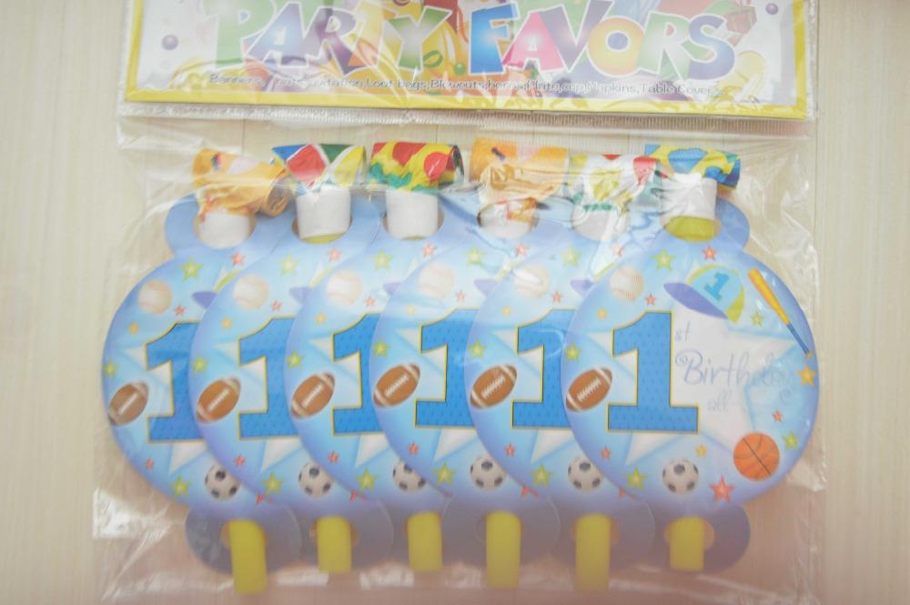 artculos de fiesta unids deportes azul baby boy primero cumpleaos fiesta temtica cumpleaos decoracin