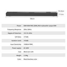 ТВ звуковая панель sonido для домашнего аудио с сабвуфером домашний