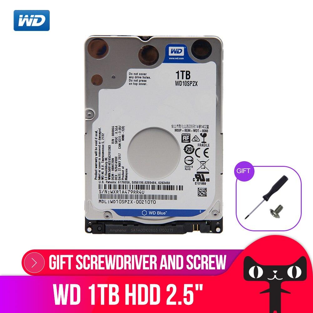 WD Bleu 1 tb Mobile Disque Dur-5400 rpm SATA 6 gb/s 128 mb Cache 2.5 pouce WD10SPZX
