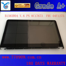 """Best sale 15.6"""" B156XW04 V.6 laptop LCD screen assembly FRU 04Y1275 1366*768 EDP 40PINS for IDEAPAD 9580 9585 LCD module"""