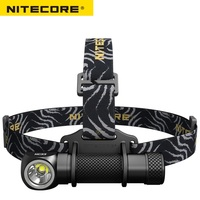 2018 New NiteCore HC33 LED Flashlight Cree XHP35 HD 1800lm Headlamp Magnetic Task light for Outdoor Camping by 18650 Battery