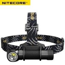 2018 новый NiteCore HC33 светодио дный фонарик Cree XHP35 HD 1800lm фары Магнитная задача света для наружной Отдых 18650 Батарея