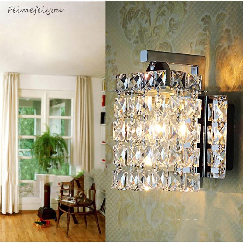 Feimefeiyou vodio kristal zidna svjetiljka Zidna svjetla luminaria - Unutarnja rasvjeta - Foto 2