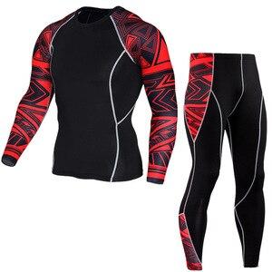 Image 5 - 2020 inverno homem roupas íntimas térmicas treino para homens mma rash guard crossfit compressão camada base de roupas S XXXXL