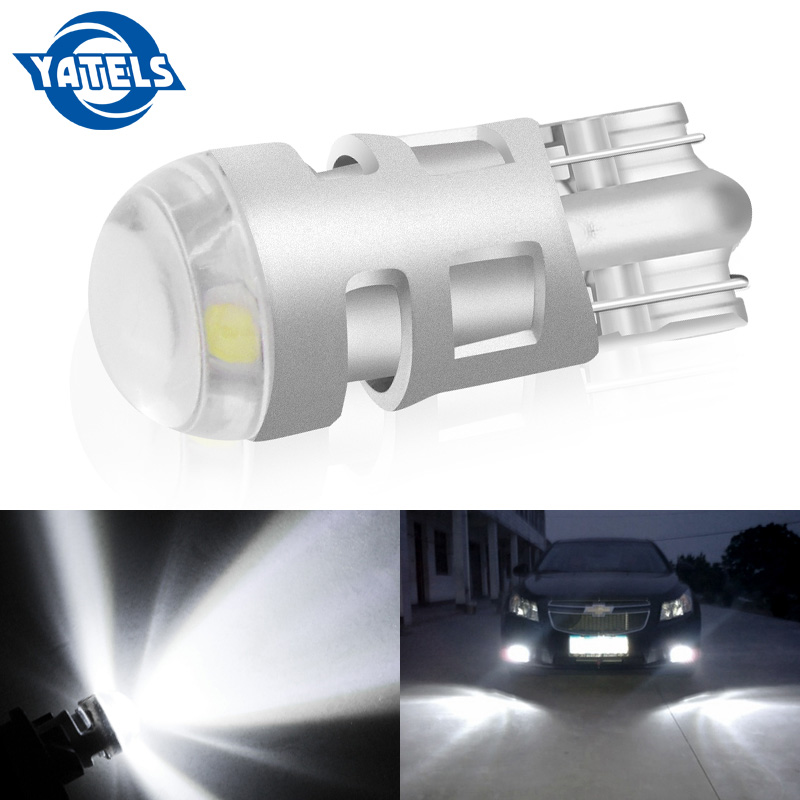 1pcs T10 Led Car Light SMD 3030 W5W 192 501 White Light Tail Side Bulb Wedge Parking Dome Light Marker White Lamp WY5W Canbus