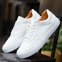 c23a285d16fd0 Pop verão Plus Size Stylish Men Sneakers Comforthable Branco Pé Homens  Sapatos Tenis Feminino Tênis Casuais