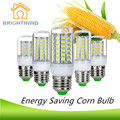 BRIGHTINWD LED Lamp E27 AC220V SMD5730 Lampada LED Chip Corn Light Bulb Spotlight Replace 25w 40w 50w 60w 70w Incandescent Light