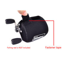 New Arrival Fishing Reel Bag for Baitcasting Reel or Water Drop Wheel Reels Protective Cover Black