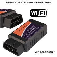ELM327 OBD 2 Auto Scan Tool ELM 327 Wifi Suporta Android e iOS Para 2015