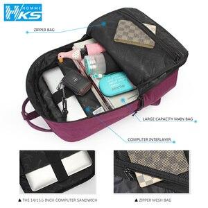 Image 5 - Yeni 2020 su geçirmez sırt çantaları öğrenci sırt çantası genç kızlar için okul çantaları FemaleLaptop sırt çantası seyahat çantası omuzdan askili çanta