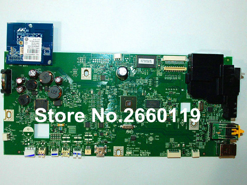 ФОТО Printer formatter board for HP officejet Pro 8610 logic mainboard fully tested and working well