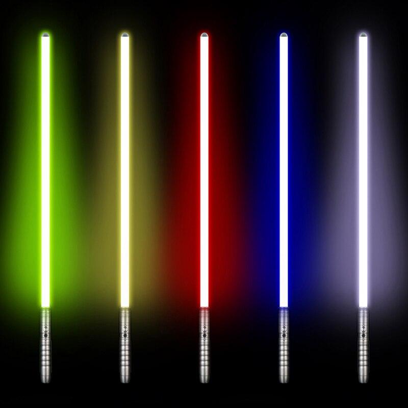 LGT تأثيري يتسابر لوك سكاي ووكر ضوء صابر جيدي السيث الليزر قوة FX الثقيلة المبارزة بصوت عال الصوت عالية ضوء مع FOC-في سيوف لعبة من الألعاب والهوايات على  مجموعة 2