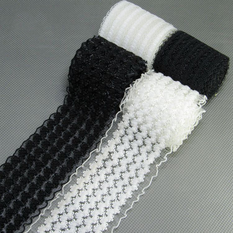 Rubber Band 50mm Black White Elastic Band Black White Lace Mesh Garment Girl Dress Women Clothing Sewing DIY Hand Made Crafts1M