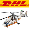 2017 Nueva LEPIN 20002 1060 Unids Técnica de Alta Carga Heavy Lift Helicóptero Kits de Edificio Modelo Bloques Ladrillos Juguetes Para Niños 42052
