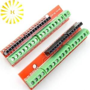 Parafuso Escudo placa de expansão Do Terminal de Estudo V2 (duplo apoio) para arduino UNO R3 Conector