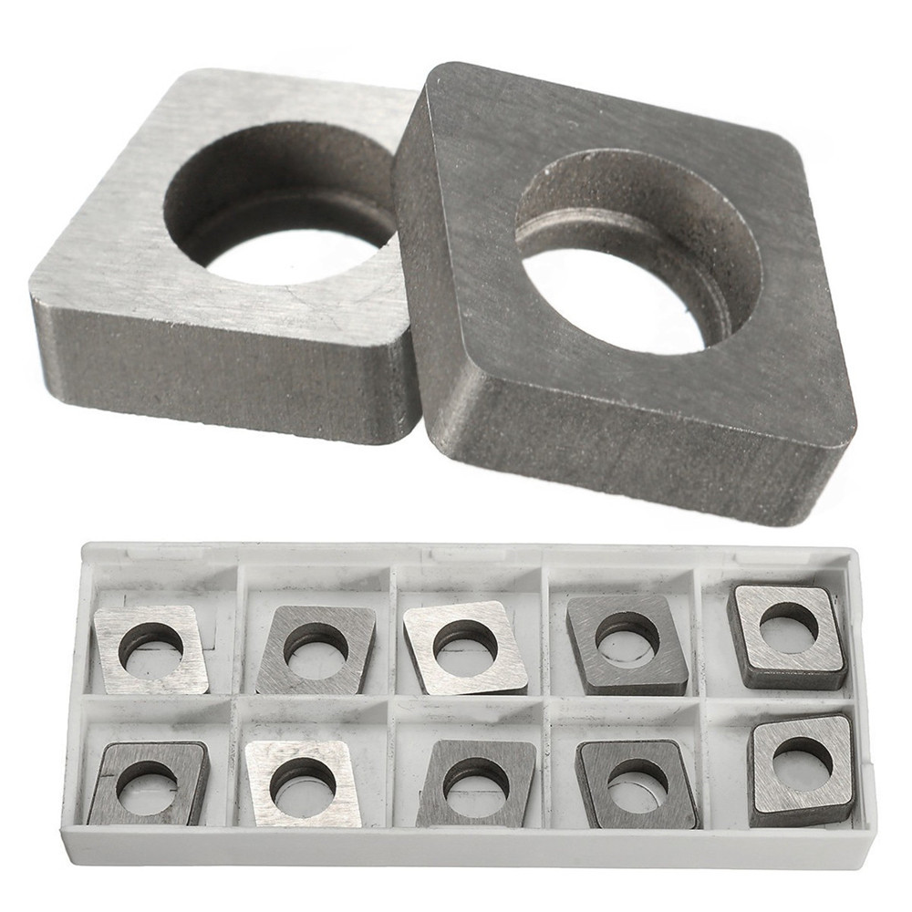 CNMG120404 10 pcs SC1204 Carbide Inserts Shims Seats Plate For CNC Tool Holder