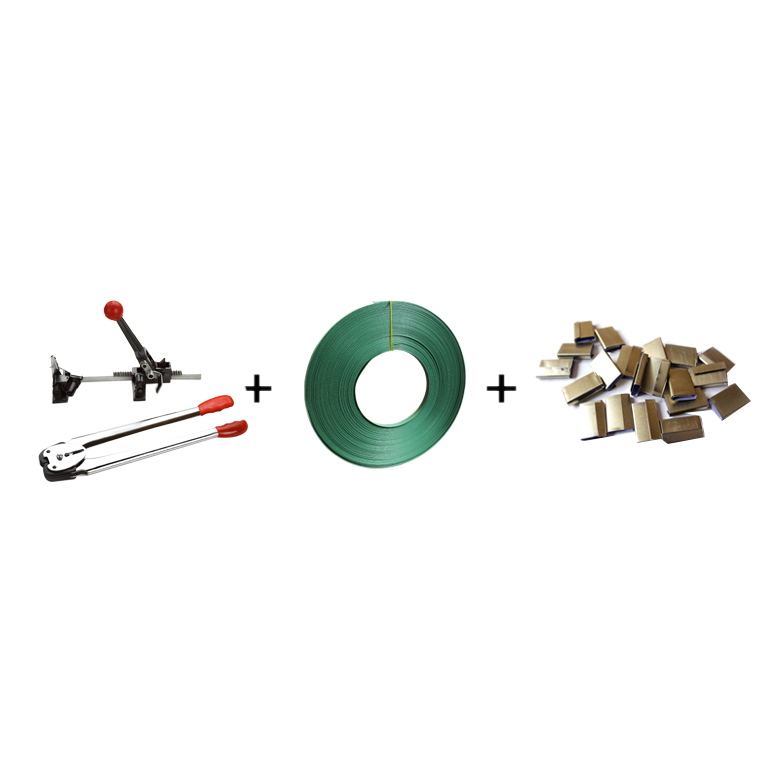 Manual Baler Packing Machine Packing Belt Strapping Machine Pliers + Tensioner